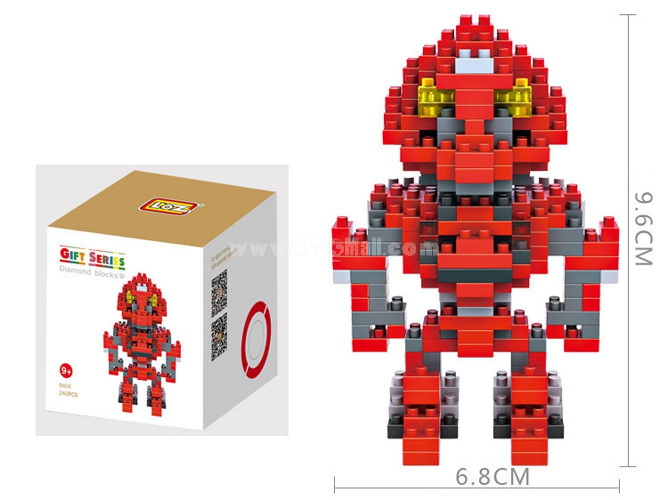 LOZ DIY Diamond Blocks Transformation Figure Toy Stinger 9404