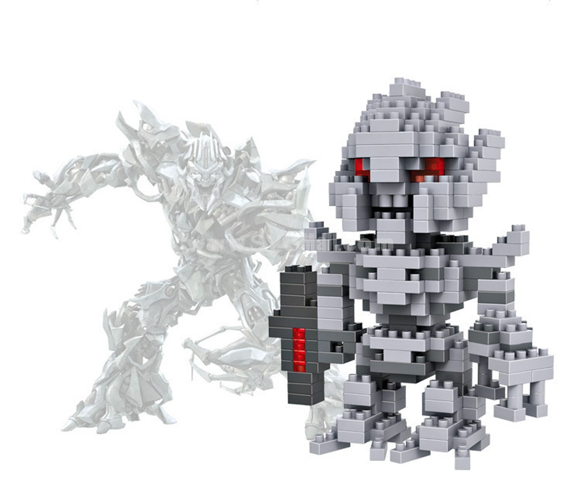 LOZ DIY Diamond Blocks Transformation Figure Toy Megatron 9403