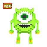 LOZ DIY Diamond Mini Blocks Figure Toy Monster High Mike 9162