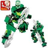 Sluban DIY Ares Robot Block Toys Lego Compatible B0213