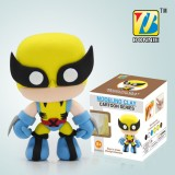 Wholesale - DIY Colorful Modeling Clay Figure Toy Wolverine BN9989-6