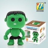 Wholesale - DIY Colorful Modeling Clay Figure Toy Hulk BN9989-4