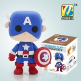 Wholesale - DIY Colorful Modeling Clay Figure Toy Captain America BN9989-1