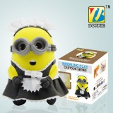 Wholesale - DIY Colorful Modeling Clay The Minions Figure Toy 9987-3