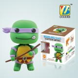 Wholesale - DIY Colorful Modeling Clay Ninja Turtles Figure Toy Donatello BN9990-1