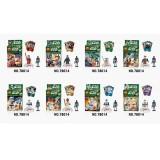 wholesale - Skull Man Block Mini Figure Toys Compatible with Lego Parts 8Pcs Set 78014