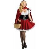 wholesale - Halloween/Christamas Party Masquerade Ball Cosplay Custume - Little Red Riding Hood