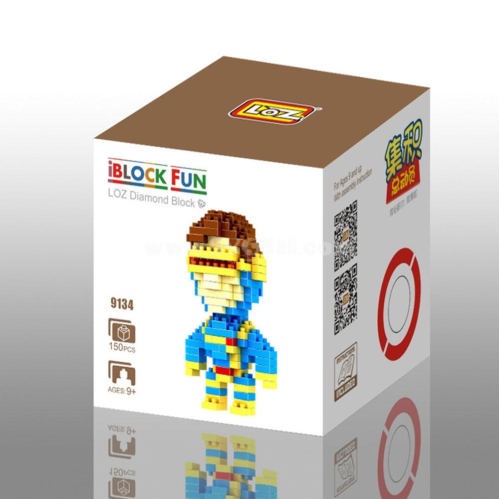 LOZ DIY Diamond Blocks Figure Toy Yellow Dog 9321