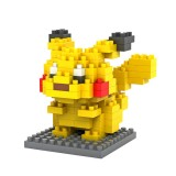 LOZ DIY Diamond Mini Blocks Figure Toy Pokemon Pocket Monster Pikachu 9136