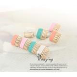 Wholesale - Wanying Shiny Cube Clip Earrings & Stud Earrings