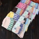 Wholesale - 10pcs/Lot Ethnic Style Women Winter Thickened Cony Hair Socks Room Socks -- Bars Mixed Colors