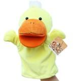 Wholesale - Cute Cartoon Animal Hand Plush Puppet Toy - Yellow Duck