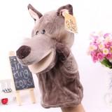 Wholesale - Cute Cartoon Animal Hand Plush Puppet Toy - Wolf