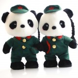Wholesale - The Red Army Of Panda Lovers Plush 30cm/12inch
