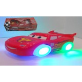 Wholesale - Glowing Flashing Musical Electric Car Automatic Steering Toys With Pixar Parts
