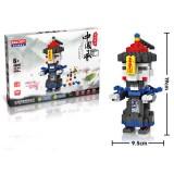 Wholesale - LOZ DIY Diamond Mini Blocks Figure Toy Zombies 566Pcs 68019