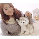 Wholesale - Husky Dog Plush Toy Imitate Toy 18cm/7inch
