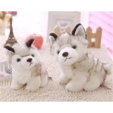 Wholesale - Husky Dog Plush Toy Imitate Toy 28cm/11inch