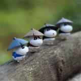 Wholesale - Mini Cobopanda Action Figurines DIY Model Toy 4pcs Set