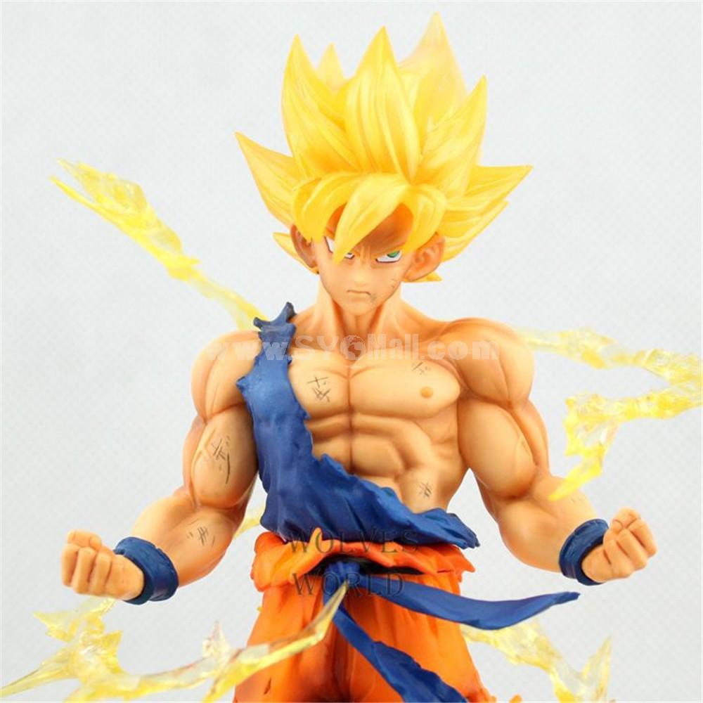 Dragon Ball Z Super Saiyan Goku Son Gokou Action Figures 17cm/6inch