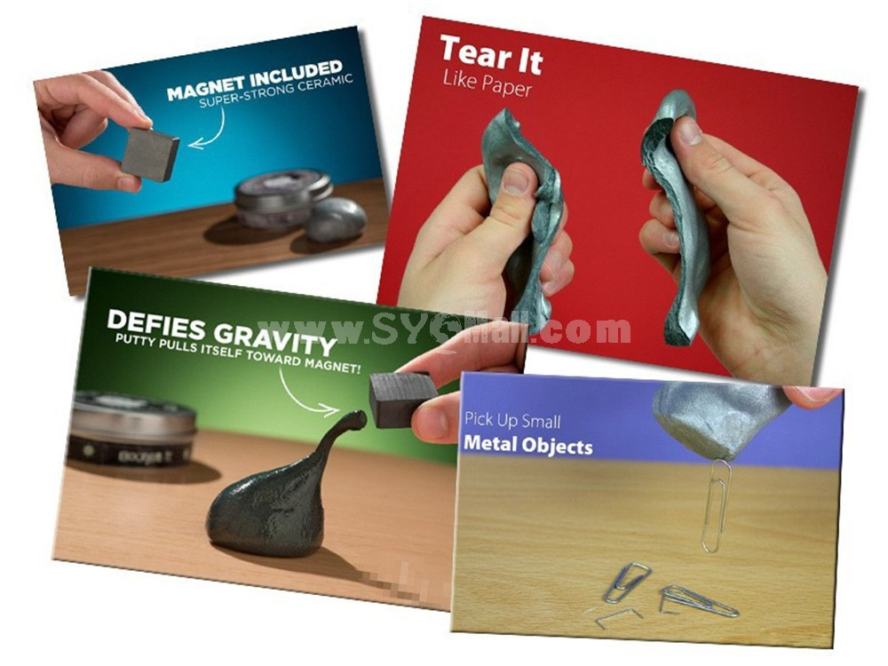 Crazy Magnetic Thinking Putty Strong Magnet Desk Educational Toy