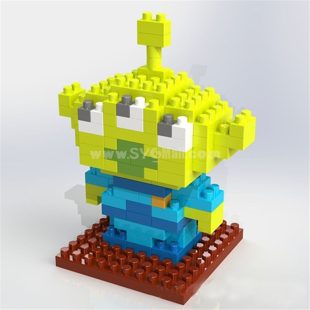 Weagle DIY Diamond Mini Blocks Toy Story Cartoon Third Seed 2217
