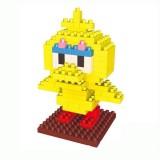 Wholesale - Weagle DIY Diamond Mini Blocks Figure Toys Sesame Street Big Bird 2226