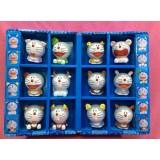 Wholesale - Doraemon 12 Zodiac Noctilucence PVC Action Figures Toys 12Pcs Set