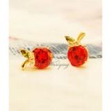 Wholesale - Wanying Stylish Flora Zircon Stud Earrings