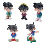 Wholesale - Conan Action Figures Toys Mini Doll 5pcs Set KN36