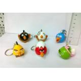 wholesale - Angry Birds Figures Toys Key Chains 6pcs Set