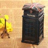 Wholesale - British Telephone Booth Classic Piggy Bank Money Box ST08
