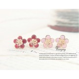Wholesale - Wanying Daisy Shiny Stud Earrings