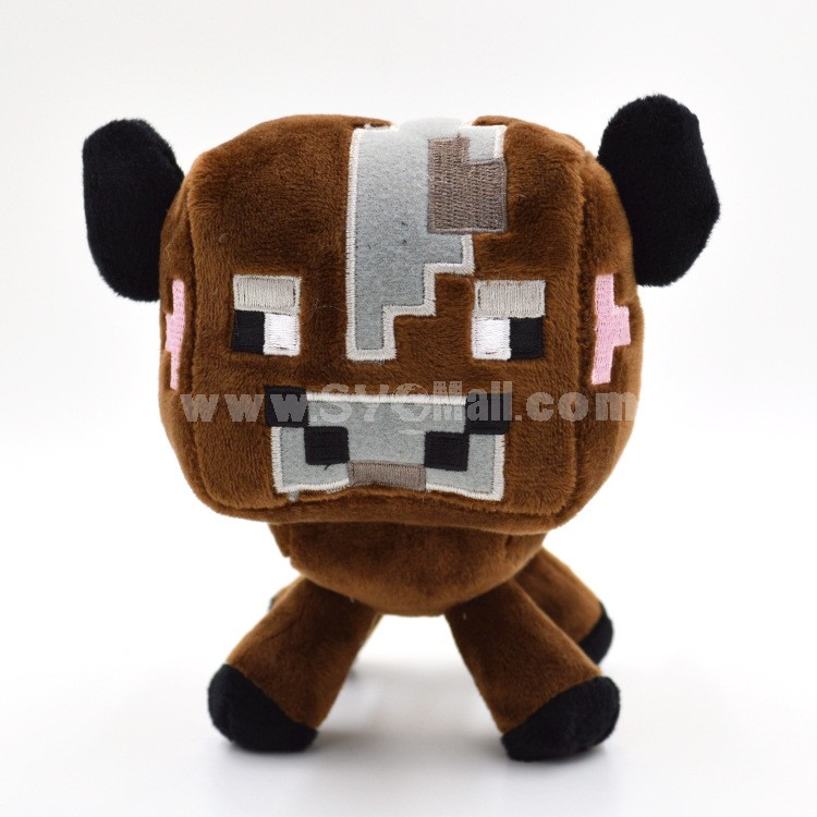Minecraft Steve Zombie Enderman Creeper Plush Toys 10Pcs Set