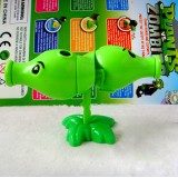 wholesale - Plants vs Zombies Toys Split-Peashooter ABS Shooting Toy