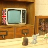 Wholesale - Zakka Vintage TV Set Piggy Bnak Money Box