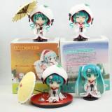 Wholesale - Hatsune Miku Action Figures Toy 4Pcs Set