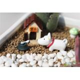 Wholesale - Mini Garden Puppy Action Figures Toy 3Pcs Set