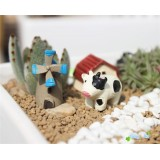 Wholesale - Mini Garden Cow Action Figures Toy 3Pcs Set