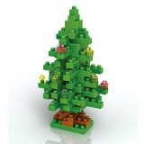 Wholesale - LOZ DIY Diamond Mini Blocks Figure Toy Christmas Tree 130Pcs Set 9123