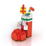 Wholesale - LOZ DIY Diamond Mini Blocks Figure Toy Christmas Stocking 150Pcs Set 9124