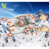 Wholesale - DIY Space War Blocks Figure Toys Compatible with Lego Parts Storm Warship 178Pcs 6604
