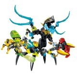 wholesale - Hero Factory Lego Compatible Queen Beast Vs Furno, Evo and Stormer Building Blocks Figure Toys 218Pcs