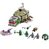 wholesale - DIY Teenage Mutant Ninja The Bottom Of Sea To Arack Blocks Figure Toys Compatible with Lego Parts 683Pcs 10265