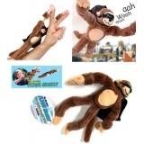Wholesale - Flying Ejection Monkey Plush Toy 28cm/11inch