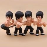 Wholesale - Bruce Lee Action Figures Toys 4Pcs Set 7cm/2.7inch
