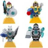 wholesale - CHIMA Blocks Mini Figure Toys Compatible with Lego Parts 4Pcs Set 10085