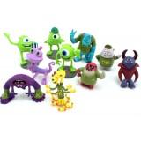 Wholesale - Monsters Inc Doll Action Figures Toys 10Pcs Set