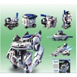 Wholesale - 7 in 1 Solar Power Rechargeable Space Fleet Model Toy