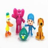 Wholesale - Pocoyo Zinkia Action Figures Toy 5Pcs Set 5-10cm/2-3.9inch